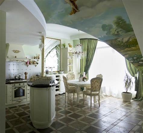 cuisine baroque idée cuisine baroque