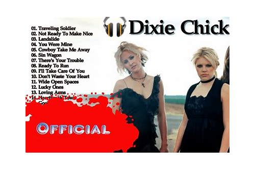 dixie chicks not ready to make nice mp3