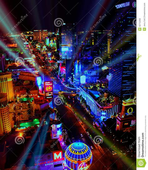 light las vegas bright lights of las vegas nv editorial stock photo