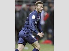 David Beckham Photos Photos David Beckham Plays in Paris