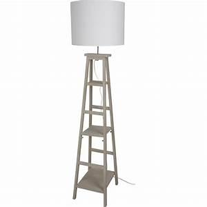 Lampadaire Extérieur Leroy Merlin : lampadaire booky 162 cm blanc 100 w leroy merlin ~ Carolinahurricanesstore.com Idées de Décoration