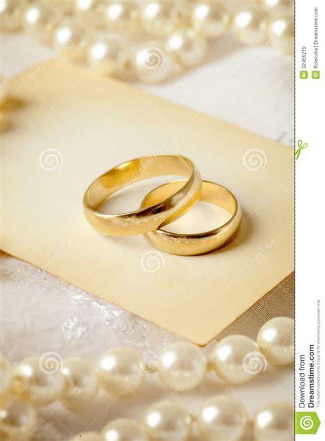 wedding invitation stock image image  wedding gold