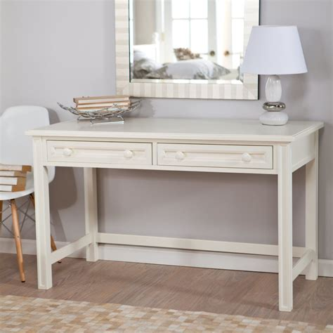 white makeup desk with teenage white wooden make up table and white leather