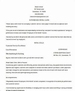 Stellar Cover Letter Samples Retail Resume Example 9 Samples In Word Pdf
