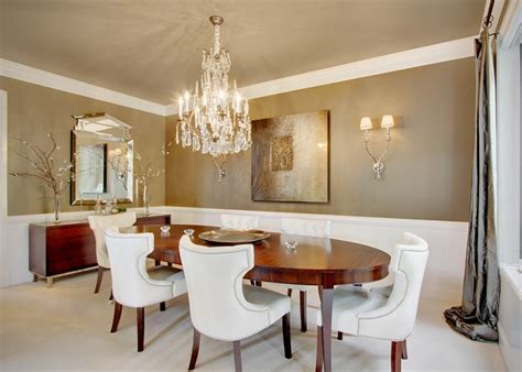 Dining Room Modern And Unique Modern Unique Dining Room Chandeliers Combined With Oval