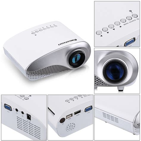 iphone 7 projector portable hd led projector home theater cinema for apple