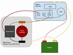 Life Aboard Swallow  U2014 Johnson Bilge Pump Wiring Plan
