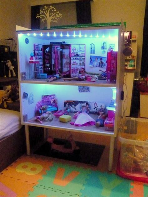 GALANT office cabinets becomes a Barbie doll house   IKEA