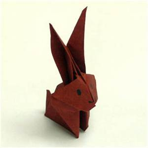 Hase Basteln Einfach : origami tiere falten hase ~ Orissabook.com Haus und Dekorationen