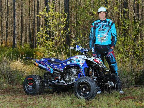 atv motocross 2015 yamaha announces 2015 atv race team atv illustrated
