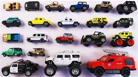 Learn Different Types Of Jeeps And 4*4 Vehicles For Kids