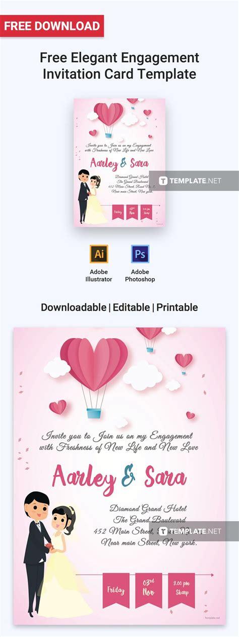 elegant  adorable invitation template  upcoming