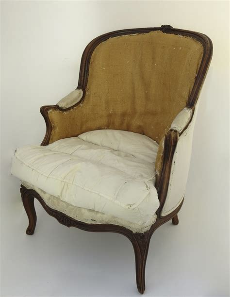 louis xv style bergere chair from blacktulip on