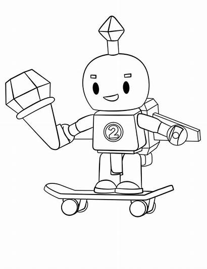 Roblox Robot Coloring Pages Printable Categories Version