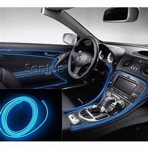 Car Interior Atmosphere Lights Styling For Audi A3 A4 B6