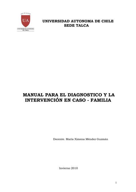 Calaméo - manual para el diagnostico y la intervencion