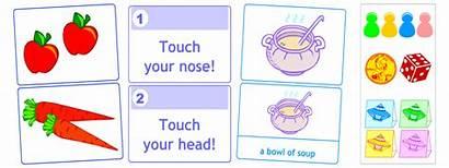 Games Flashcard English Printable Printables Card Learning