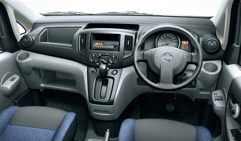 nissan van interior nissan nv 200 custom autos weblog