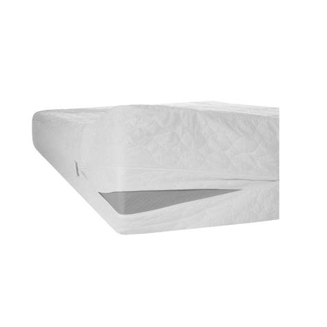 Bed Bug Covers Home Depot by Remedy Bed Bug Dust Mite And Water Proof Mattress Zip