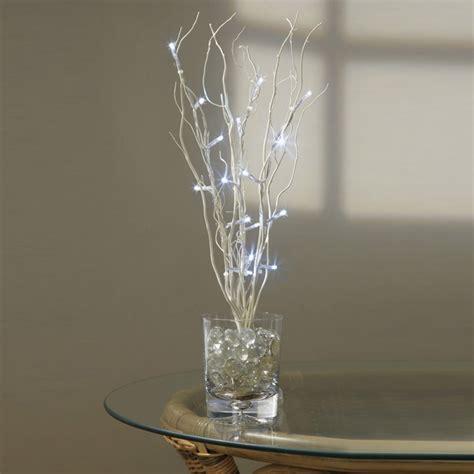 premier white led twig lights 40cm charlies direct
