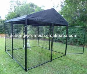 outdoor large cheap dog run kennel with coverchina With cheap dog kennels for large dogs