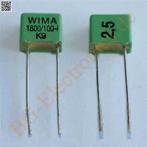 Schaltkreise Berechnen : 50 x 1800pf 100v fkp 2 rm5 folien kondensator capacitor wima 50pcs ebay ~ Themetempest.com Abrechnung