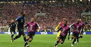 Watch France's emotional celebration after winning the ...