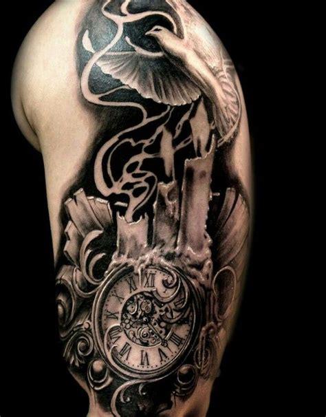 tattoo clock bird tattoos pinterest tattoo clock tattoo  tatoo