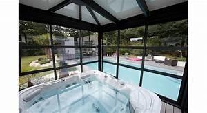 Rideau De Toit Pour Veranda : v randa rideau prot ger piscine maison travaux ~ Melissatoandfro.com Idées de Décoration