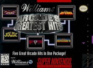 Arcade's Greatest Hits SNES Super Nintendo
