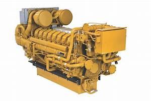 Cat Unveils Uprated C175 Marine Engine At Smm
