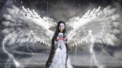 Angel Child Surrealism Cupid 4k Swing Toy