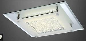 Led Kristall Leuchte : neu led 49300 deckenlampe decken lampe kristall klar flur bad leuchte spiegel wohnraumleuchten ~ Markanthonyermac.com Haus und Dekorationen