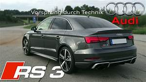 Audi Rs3 Sedan : 2018 audi rs3 sedan 400hp pure sound youtube ~ Medecine-chirurgie-esthetiques.com Avis de Voitures