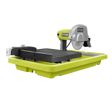 ryobi 7 in overhead wet tile saw ws731 the home depot