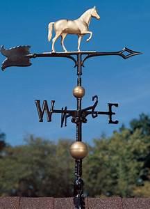 "30"" Race Horse Weathervane w/Arrow-3D equestrine Pony wind ..."
