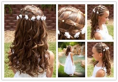 Hairstyle Hairstyles Flower Princess Hair Diy Easy