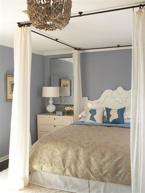 canopy bed drapes canopy bed ideas bedrooms bedroom decorating ideas hgtv
