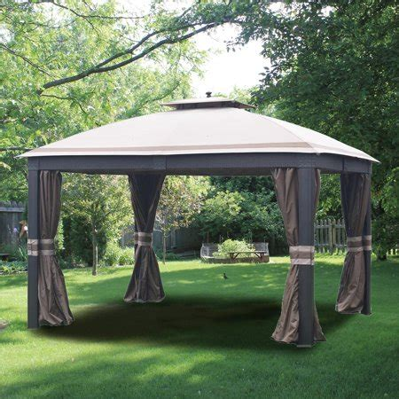 allen and roth gazebo garden winds replacement canopy top for allen roth wicker