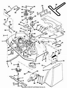 Poulan Pp125h38k Tractor Parts Diagram For Mower Deck