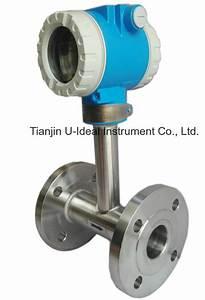 China Water  Steam Flow Turbine  Vortex  Electromagnetic