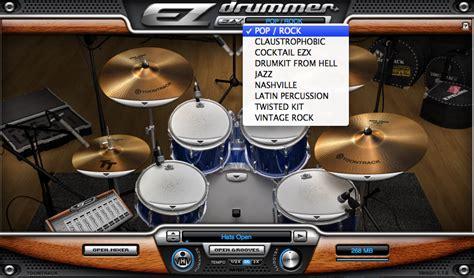 Garageband Jazz Drum Loops by Writing Songs With Ezdrummer Drum Sler