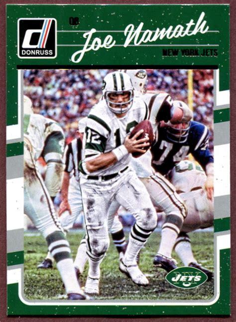 2016 Donruss New York Jets NFL Football Card Team Set