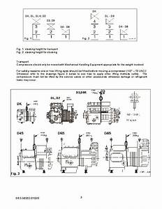 Emerson Copeland Dk Dl S Series Semi Hermetic Compressor