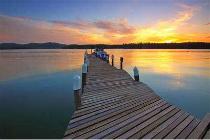 Dock Sunset Docks Boat Water Lake Pier