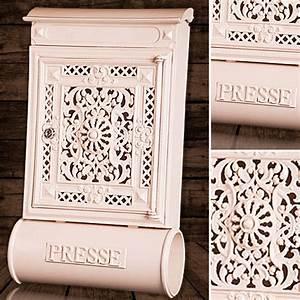 Briefkasten Shabby Chic : briefkasten versandshop briefkasten antik alu sandguss ~ Watch28wear.com Haus und Dekorationen