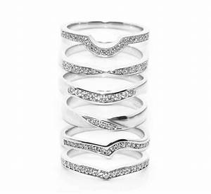 Fitting inspiration for shaped wedding rings for Shaped wedding rings