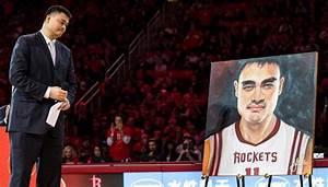 VIDEO: Rockets Retire Yao Ming's Jersey | Def Pen