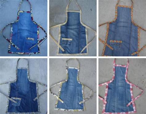 wonderful diy easy childrens apron   jeans
