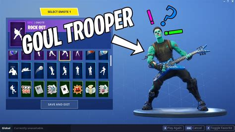 Male Ghoul Trooper Skin!? With Dance Emotes Showcase! Fortnite Battle Royale